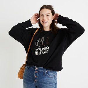 Les Femmes Moderns madewell sweatshirt